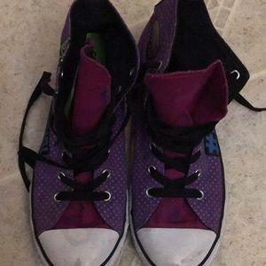 Converse Shoes - CONVERSE  RARE high top Hey Girl sneakers